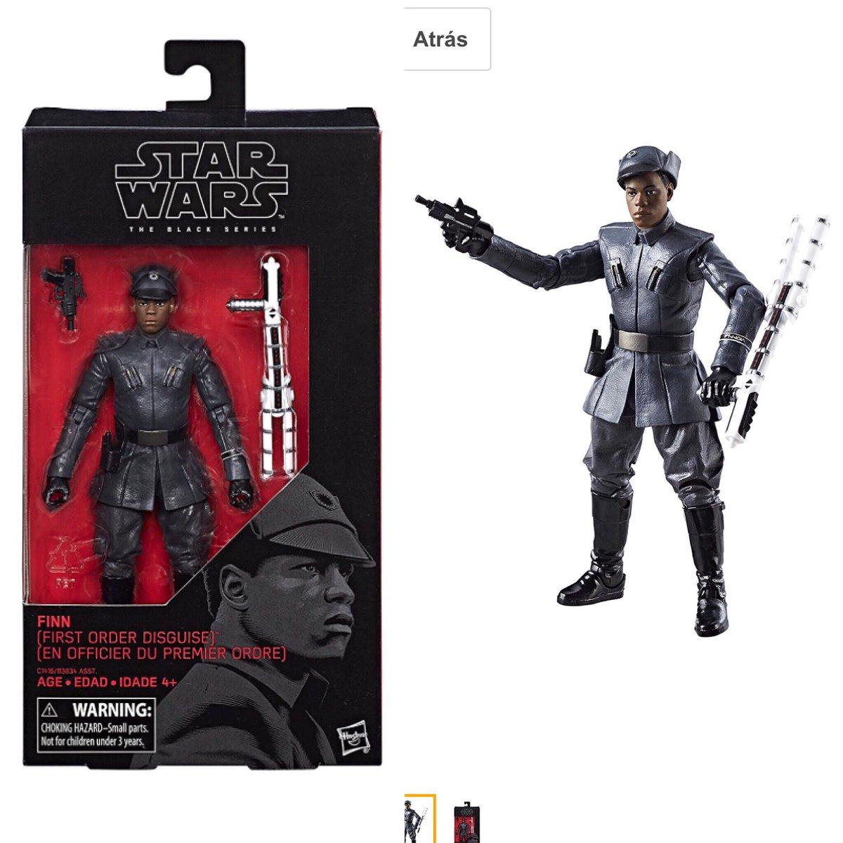 Star Wars: The Last Jedi's Finn Figure