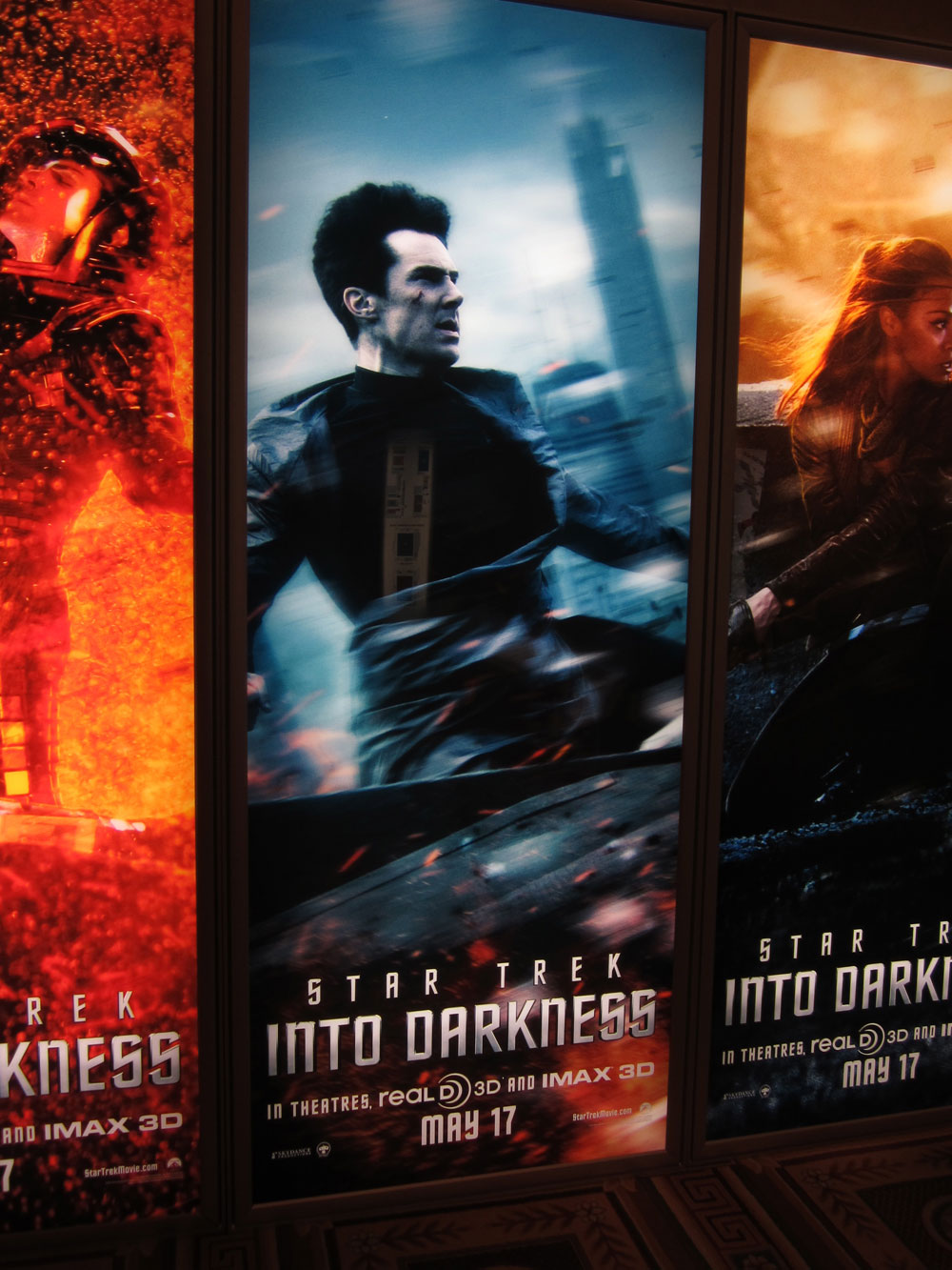Star Trek Into Darkness Character Poster CinemaCon Shockya1 CinemaCon 2013: Chris Pine Star Trek Into Darkness Character Poster