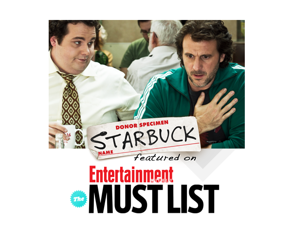 Starbuck on Entertainment Weekly