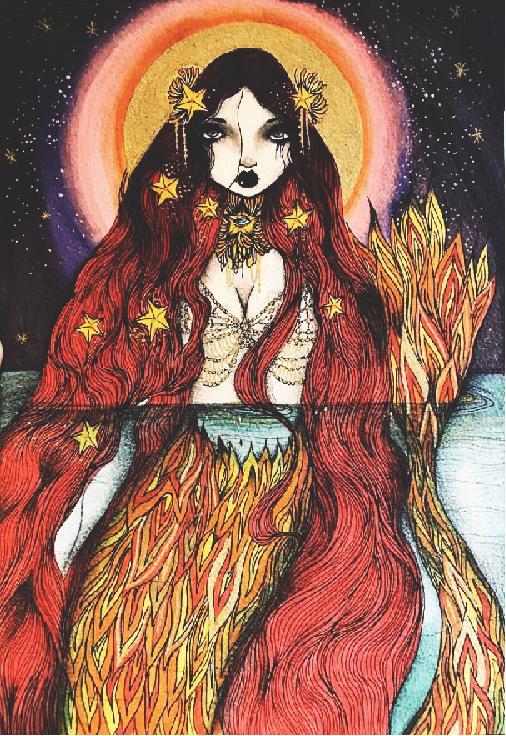 Starla Sunshine's Red Lagoon Cover Art