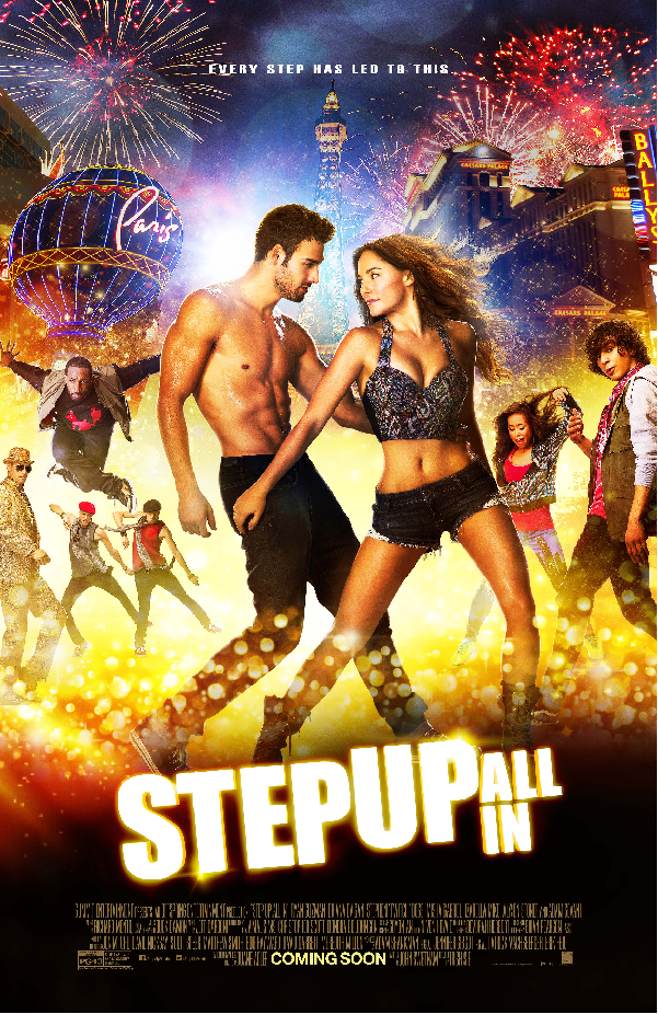 Step Up All Ins Official Poster Step Up All Ins Official Trailer Features All Stars Busting a Move