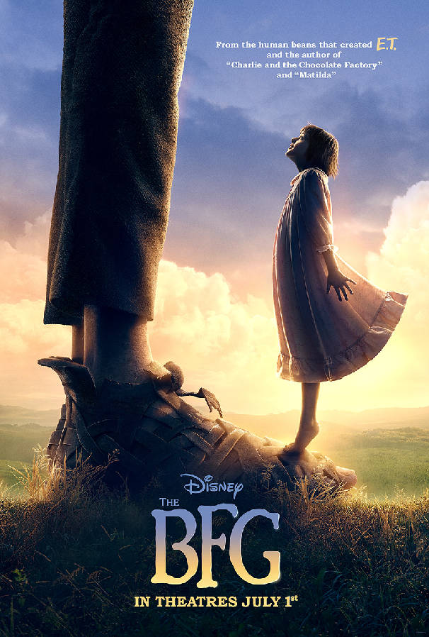 Steven Spielberg's The BFG Receives First Poster From Disney