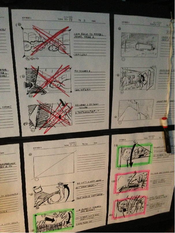 Storyboard Joy Ride 3: Road Kill