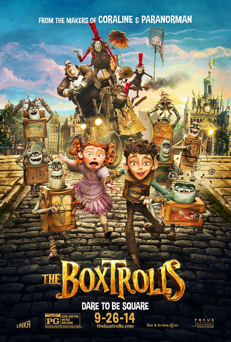 THEBOXTROLLS OfficialPoster Get Introduced to The Boxtrolls Through New Motion Poster and Video