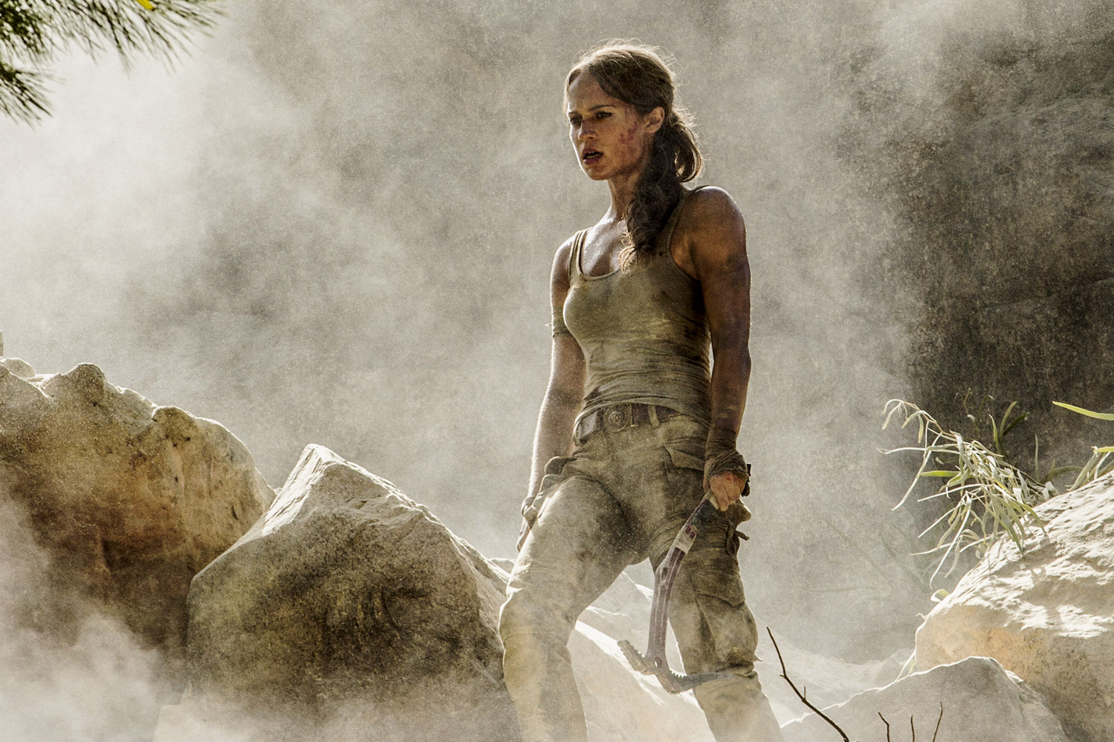 Photo of Alicia Vikander in Tomb Raider