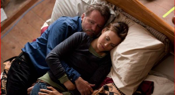 Taylor Schilling and Aidan Quinn Here to Stay in Debut Clip Taylor Schilling and Aidan Quinn Are Here to Stay in Debut Clip