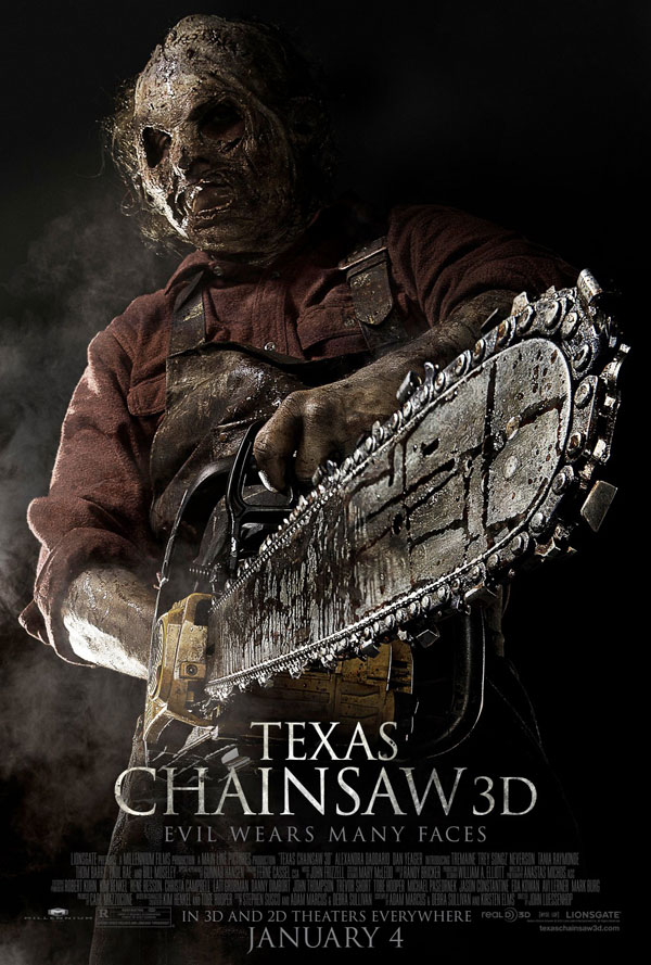 Texas Chainsaw 3D Poster Texas Chainsaw 3D Movie Review