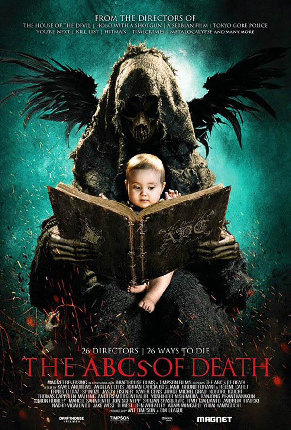 The ABCs of Death Poster The ABCs of Death Movie Review