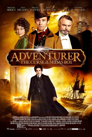 The Adventurer The Curse of the Midas Box Venturing Home on DVD The Adventurer: The Curse of the Midas Box Venturing Home on DVD