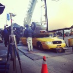 The Amazing Spider Man Taxi Crush 150x150 New Pic from The Amazing Spider Man 2 Hits The Web