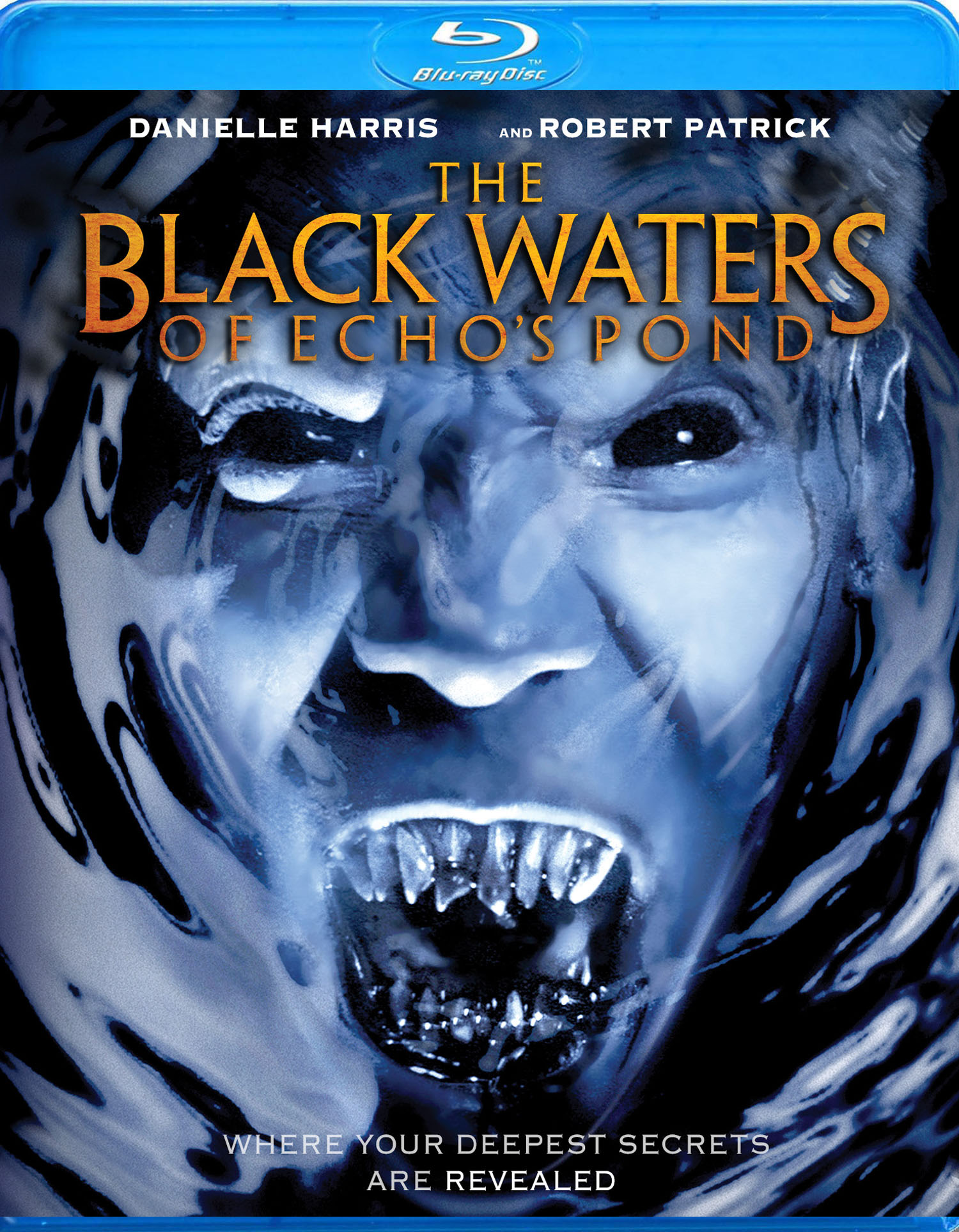 The Black Waters of Echo's Pond blu-ray