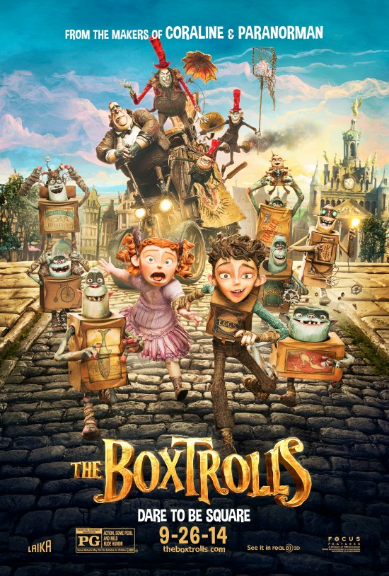 The Boxtroll Poster Meet The Boxtrolls In New Official Poster and Trailer