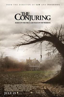 The Conjuring Poster1 CinemaCon 2013: Warner Bros. Bring Out Man Of Steel, Pacific Rim, Gravity And More