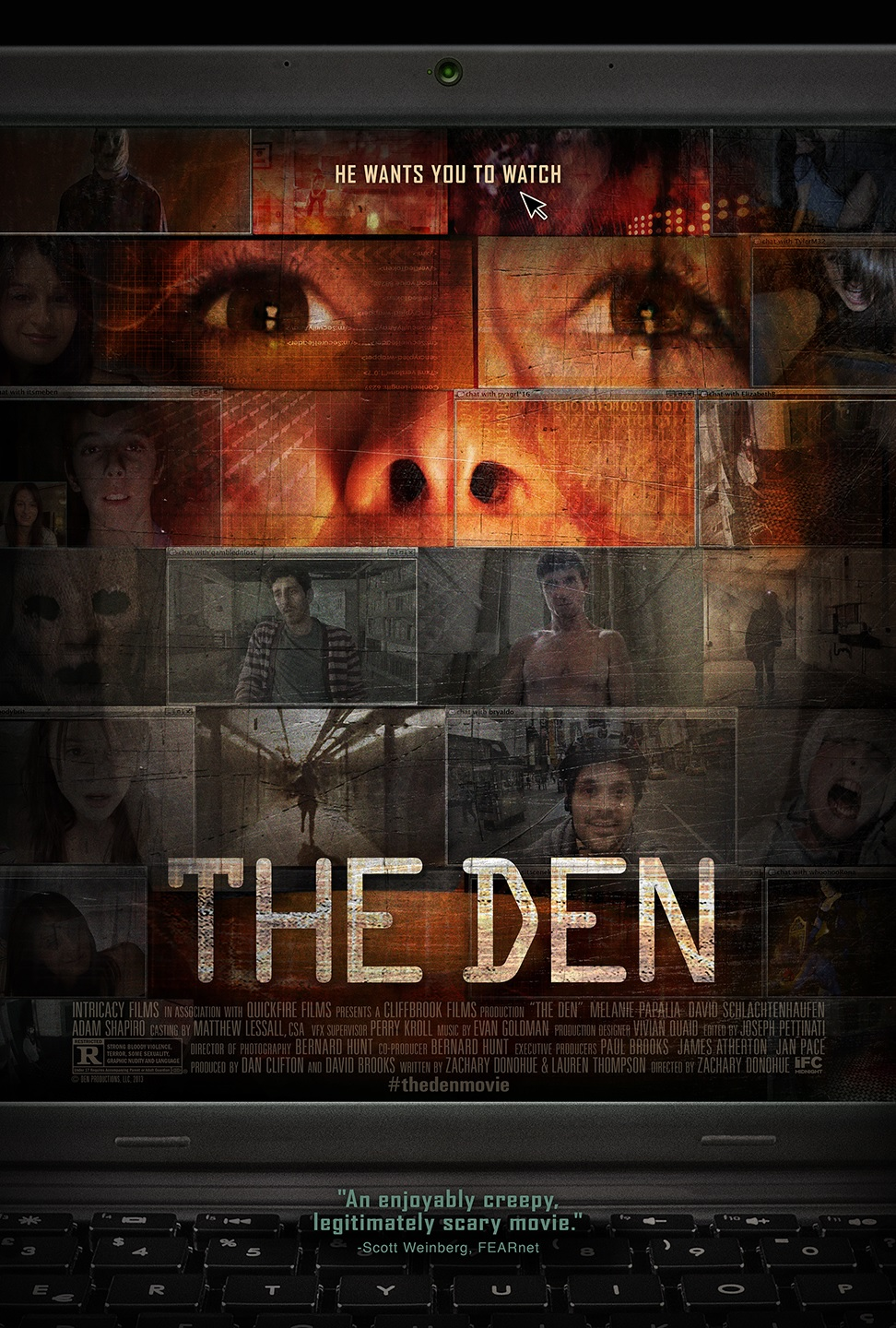 The Den poster The Den Now Open in Select Theaters and VOD