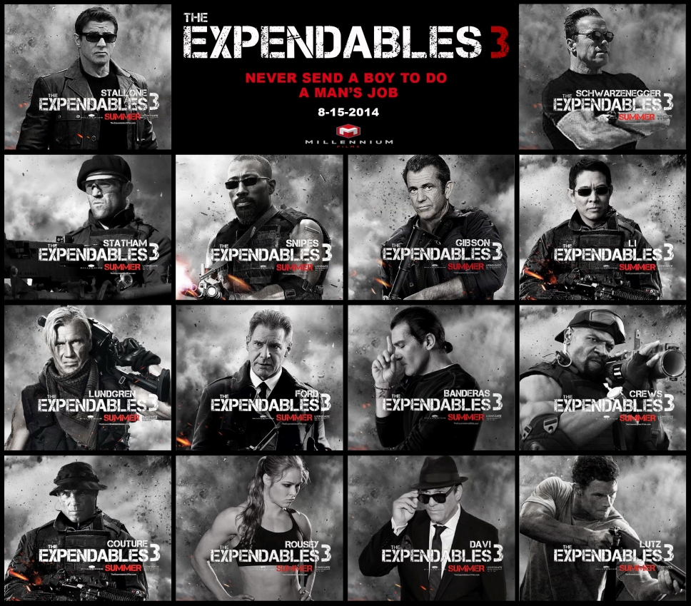 The Expendables 3 Teaster Expendables 3 Cast