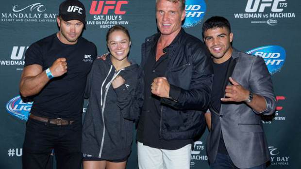 The Expendables 3's Ronda Rousey Is UFC Women's Bantamweight Champion