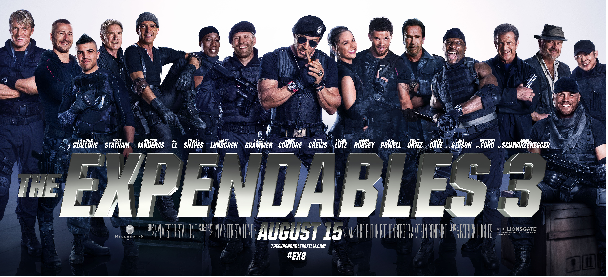 The Expendables 3's Trailer is Showing 2014's Baddest Action Stars
