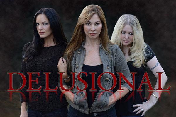 The Female Cast of Supernatural Horror Film Delusional
