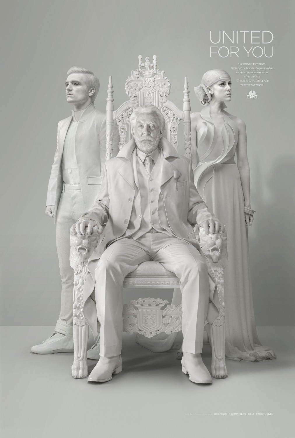 The Hunger Games Mockingjay Part 1s President Snow Second Panem Address Unity The Hunger Games: Mockingjay Part 1s President Snow Talks Unity