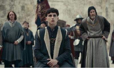 Timothée Chalamet in The King