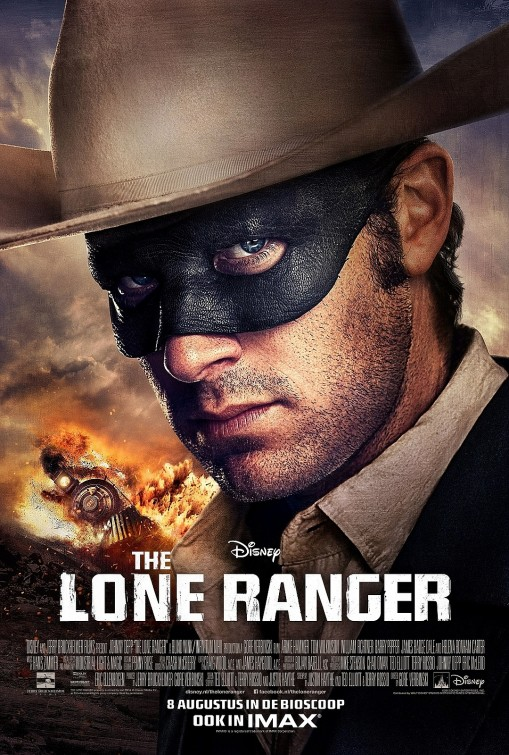 The Lone Ranger Character Poster Foreign 1 Two New Posters for The Lone Ranger