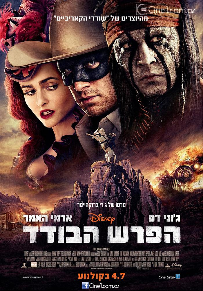 The Lone Ranger International Poster New TV Spot and Poster for The Lone Ranger