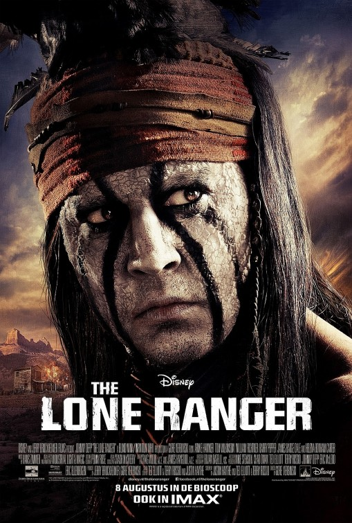The Lone Ranger Tonto Character Poster Two New Posters for The Lone Ranger