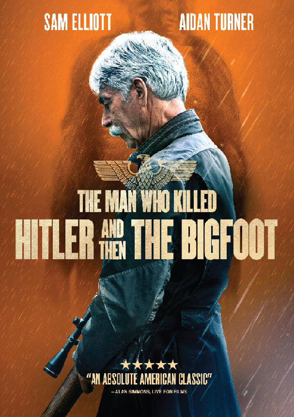 The Man Who Kill Hitler and Then The Bigfoot DVD Cover