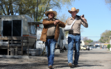 The Man on Carrion Road's First Look at Ian McShane and Patrick Wilson