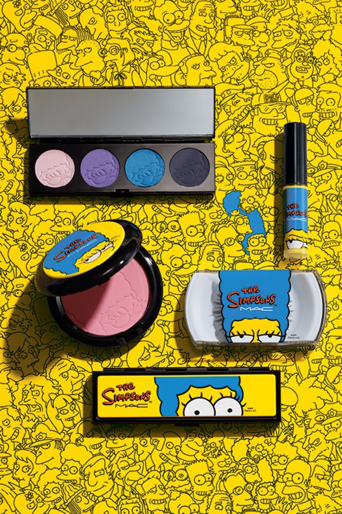 The Simpsons MAC New MAC Cosmetics Line Inspired by Marge Simpson