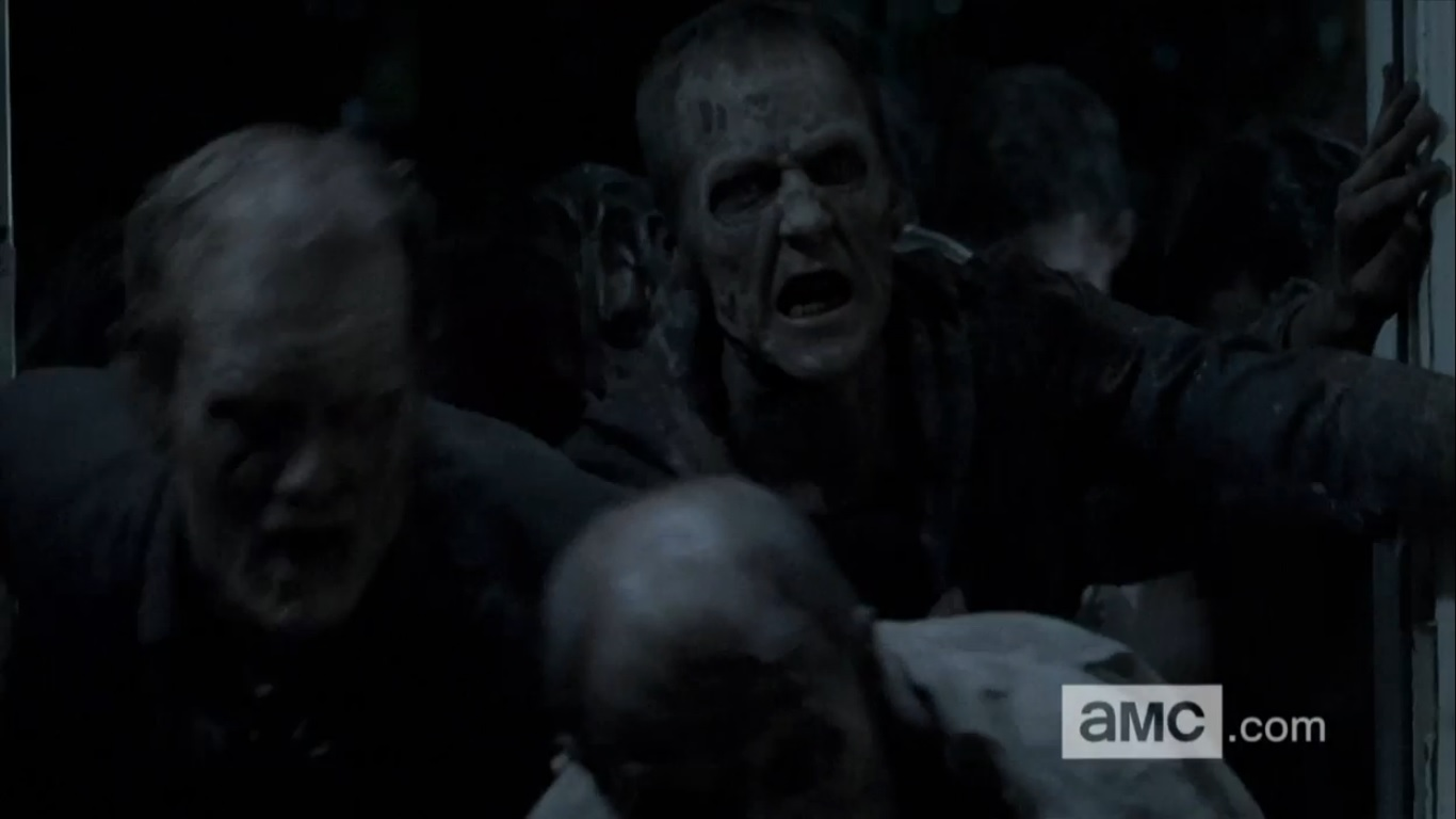 The Walking Dead Alone Zombies Come Calling in The Most Talked About Scene From The Walking Dead