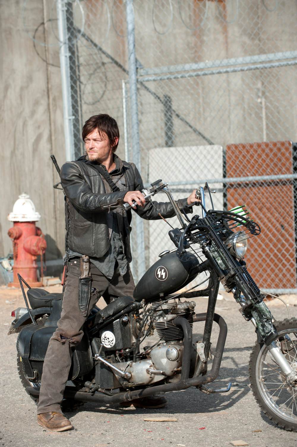 The Walking Dead Norman Reedus Season 3 Finale1 Exclusive: Revealing New Photos from The Walking Dead Finale Episode