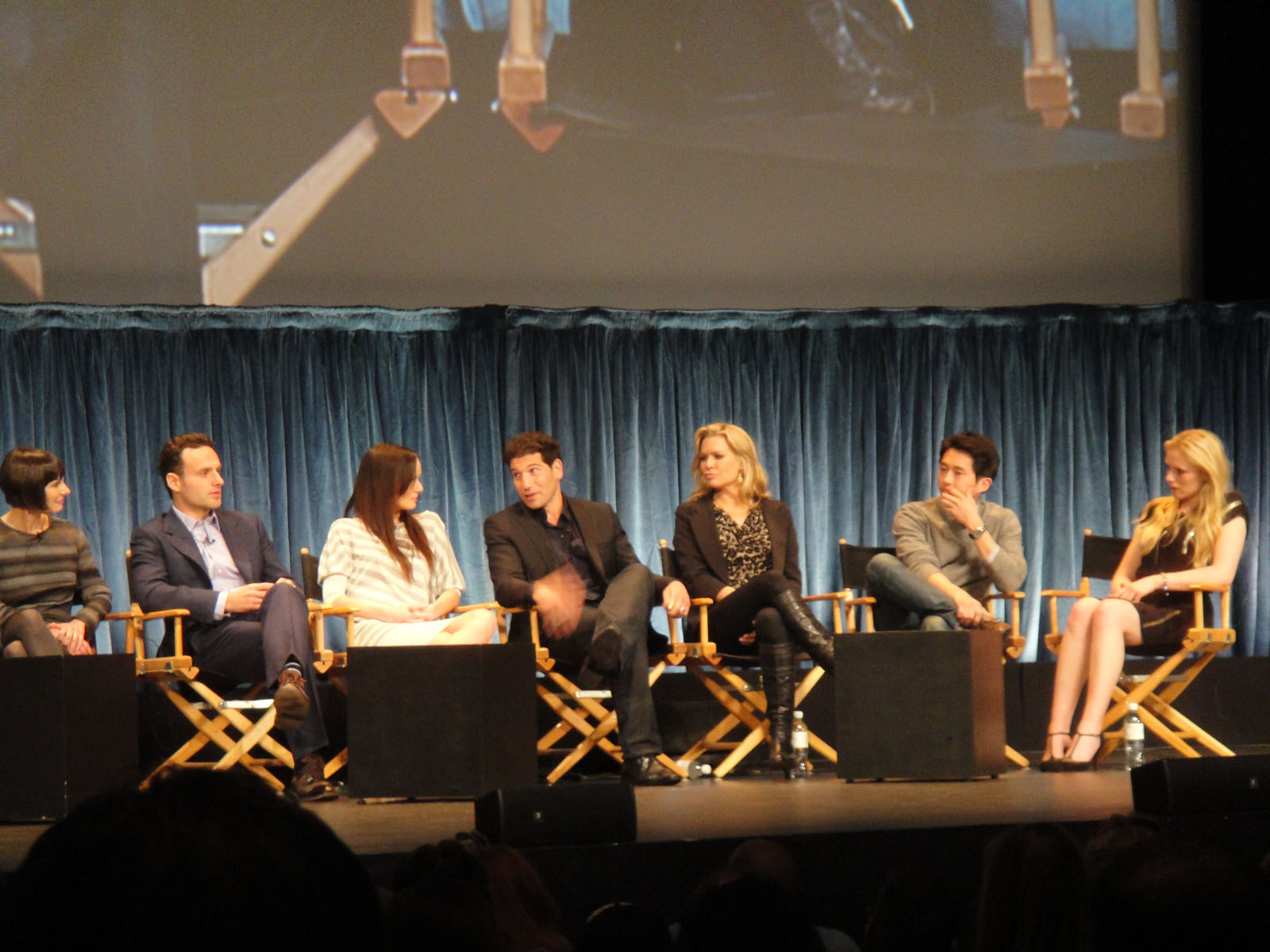 The Walking Dead Paley Fest Panel1 The Cast Talk The Walking Dead in Complete Paley Fest Panel Discussion