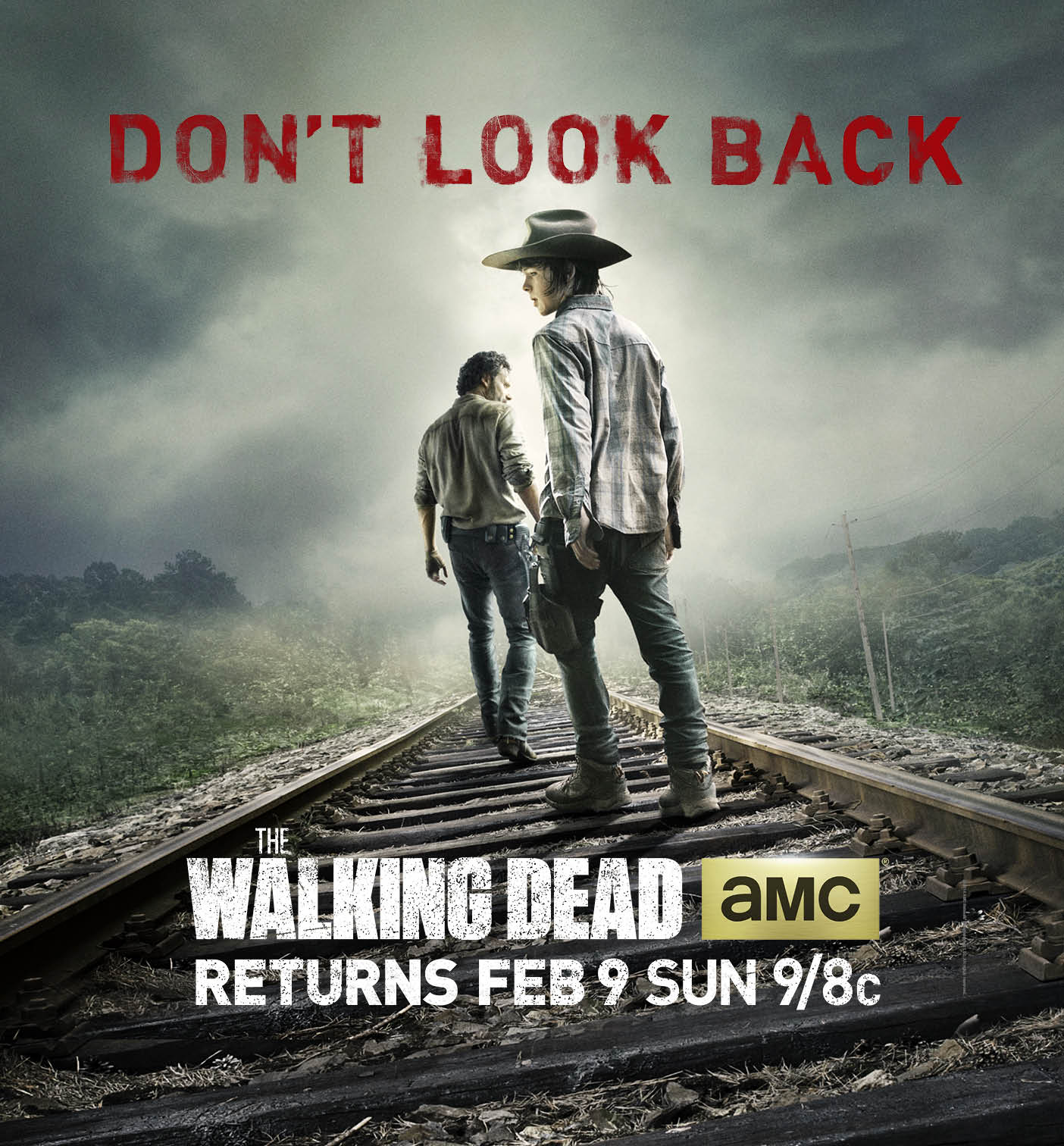 New Key Art From The Walking Dead Features Rick, Carl and New Tagline
