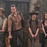 The Walking Dead Spoof on SNL 150x150 New Clip from The Walking Dead Season 3, Episode 13: Arrow on the Doorpost