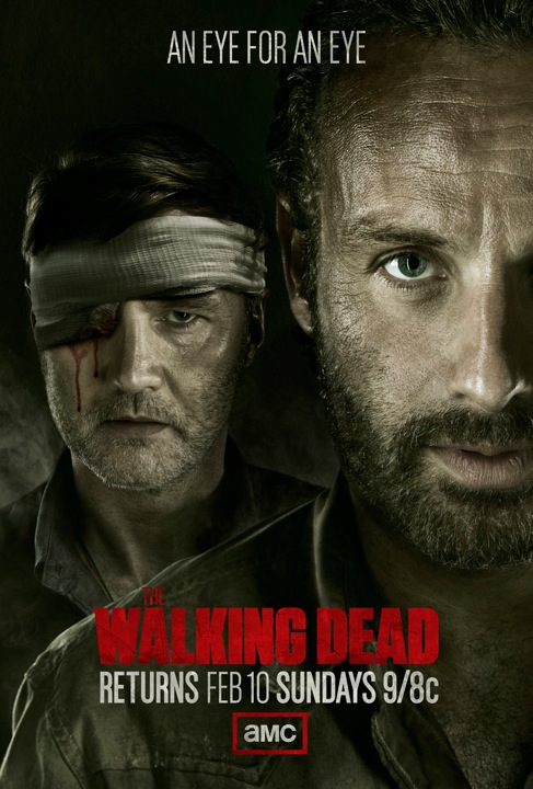 The Walking Dead key art The Walking Dead Mid Season Key Art Revealed