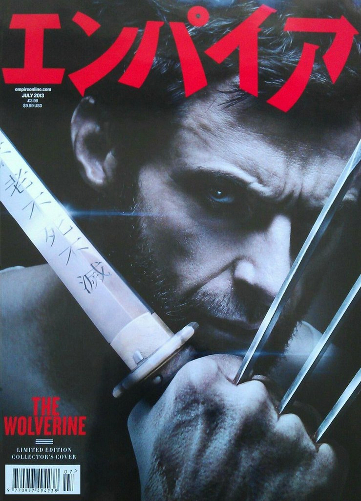 The Wolverine Empire Magazine Foreign Cover New Foreign Magazine Cover for The Wolverine