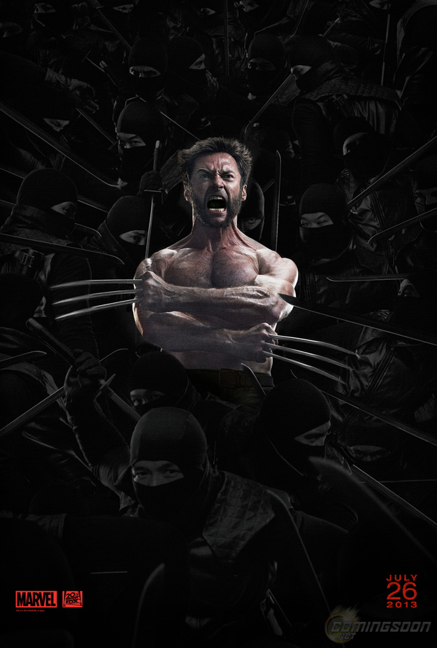 The Wolverine Ninja Movie Poster Yet Another New Poster for The Wolverine