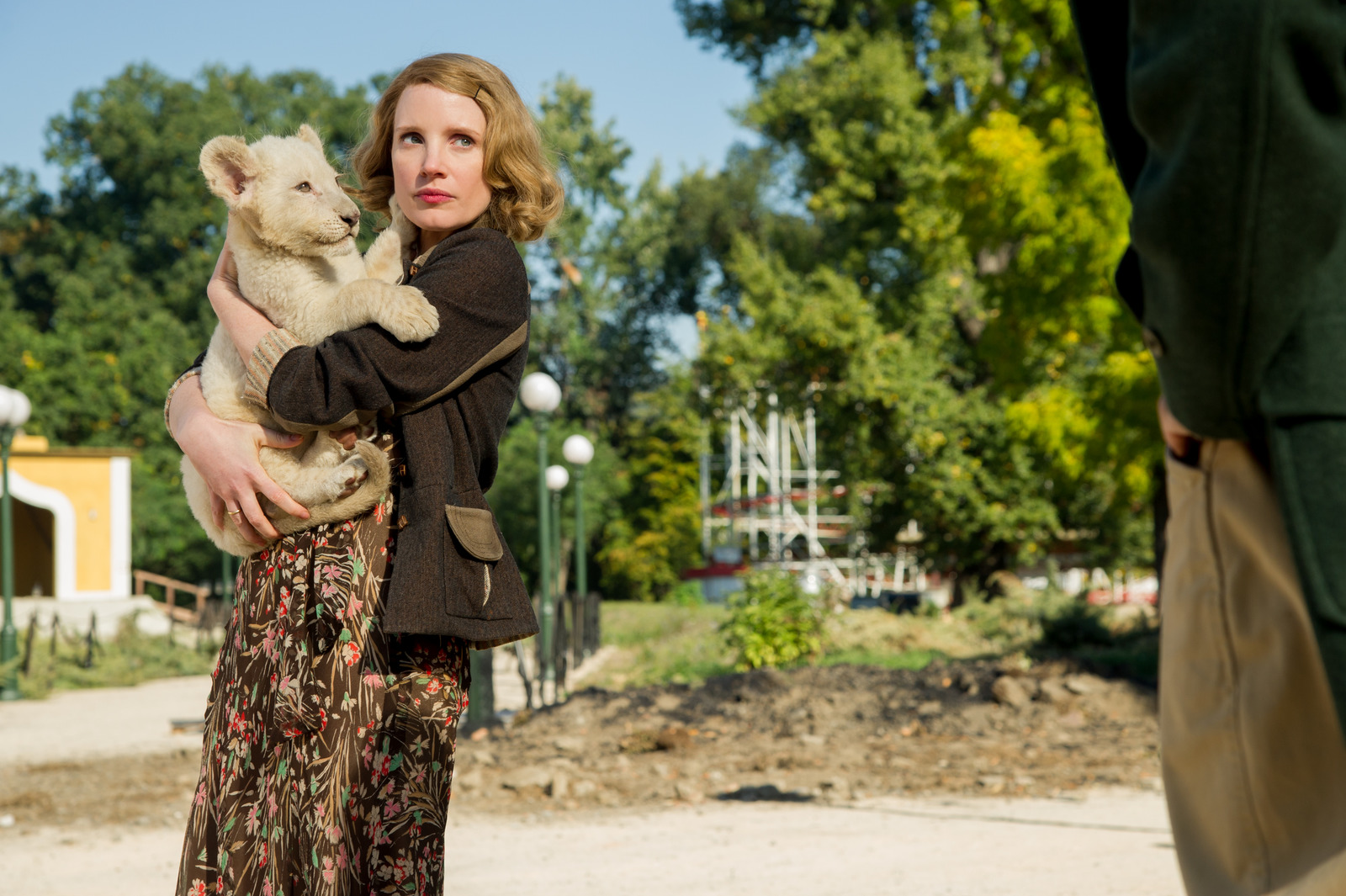 Jessica Chastain The Zookeeper's Wife Photo