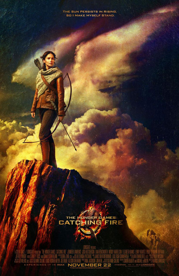 The Hunger Games Catching Fire Poster The Hunger Games: Catching Fire Movie Review