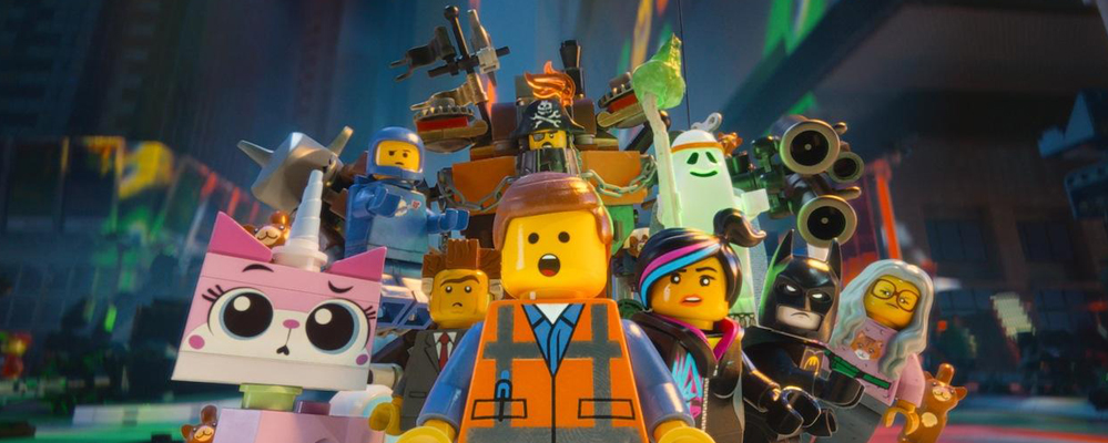 The Lego Movie really is awesome!