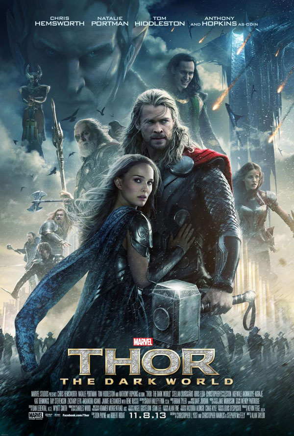 The The Dark World Poster Thor: The Dark World Movie Review