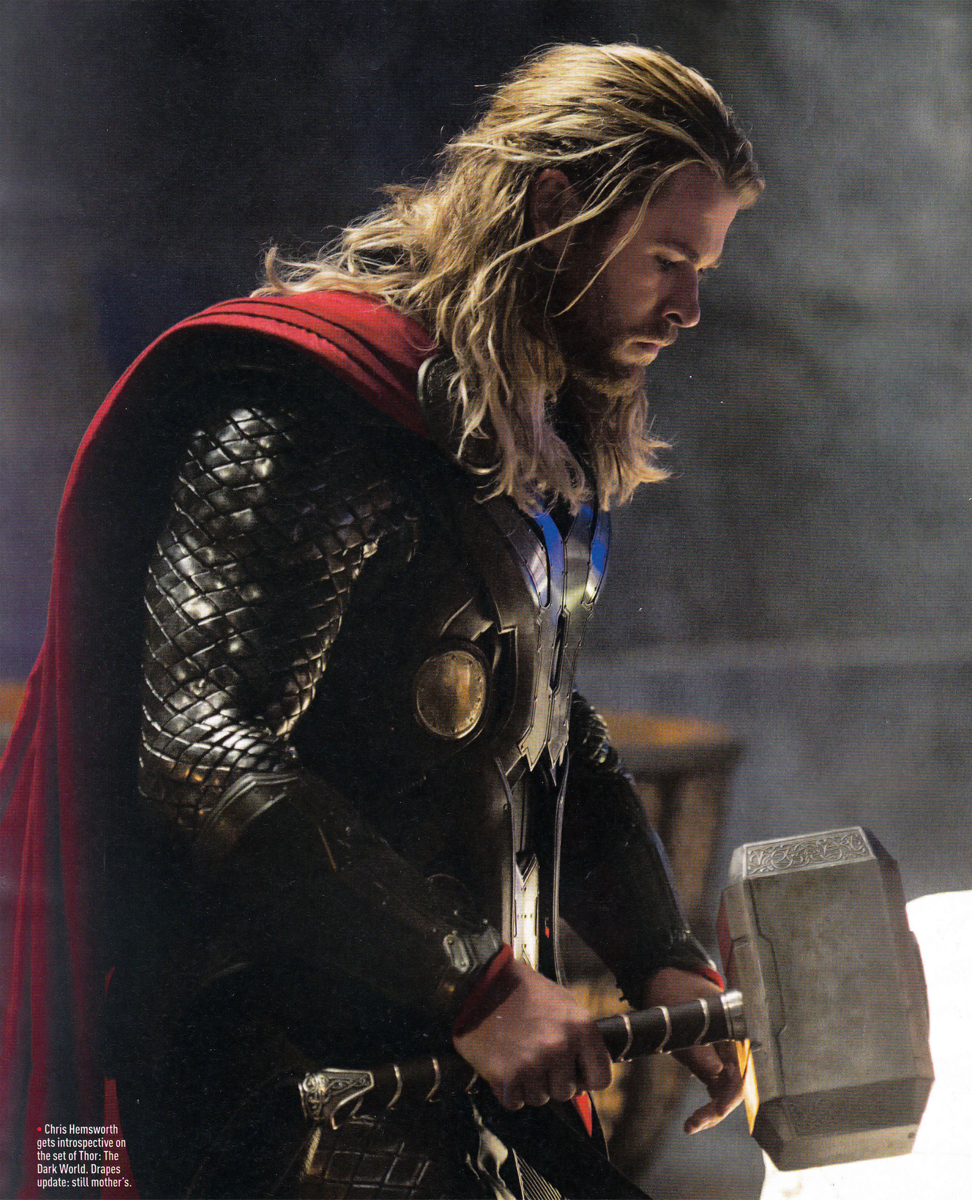 Thor the Dark World Hammer Profile
