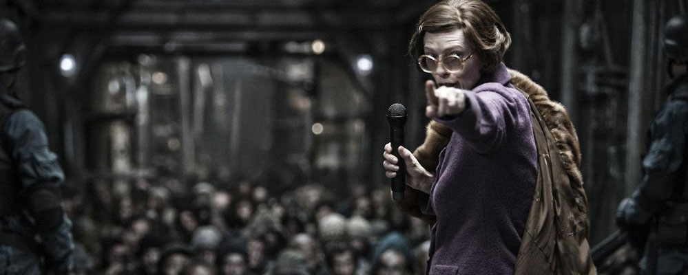 Tilda Swinton in Snowpiercer