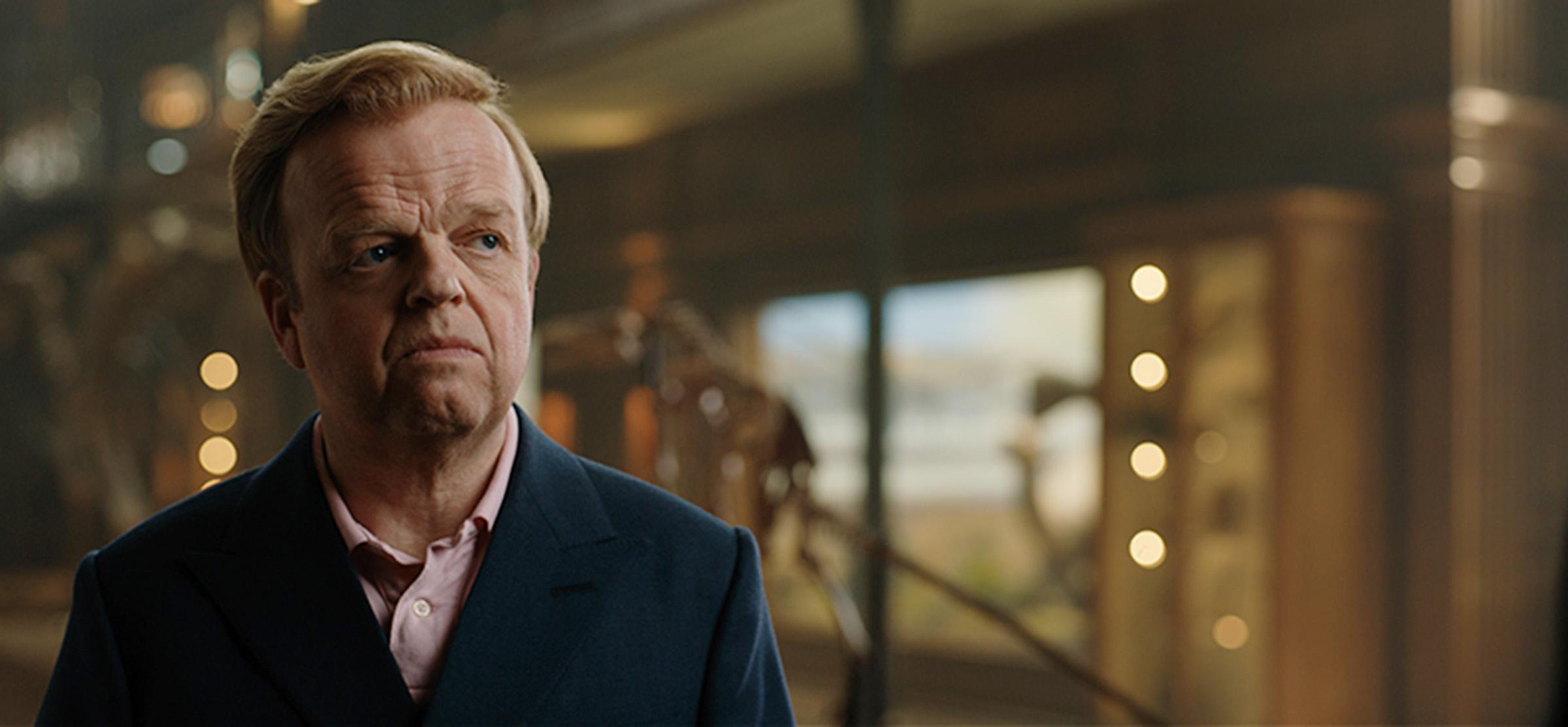 Toby Jones in Jurassic World: Fallen Kingdom