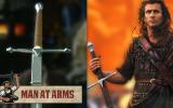 Tony Swatton Recreates Braveheart's William Wallace's Claymore In Clip