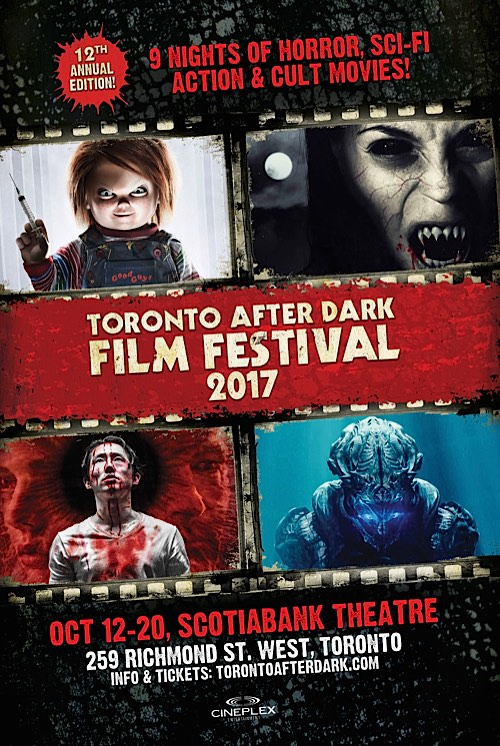 Toronto After Dark Film Festival 2017 Poster