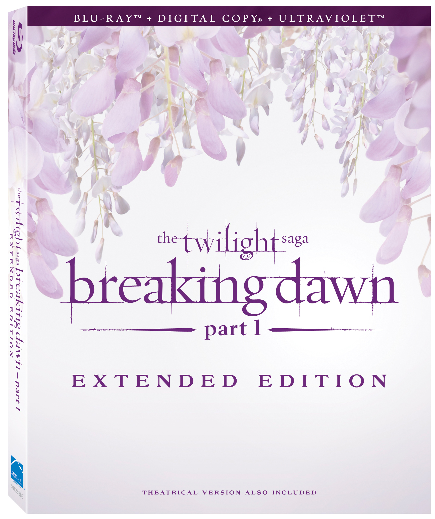 TwilightBreakingDawn Part1 Extended BD CoverArt Relive The Romance With The Twilight Saga: Breaking Dawn Part 1 Extended Edition