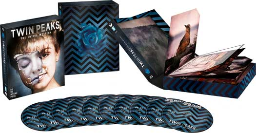 Twin Peaks Twin Peaks: The Entire Mystery Comes to Blu Ray