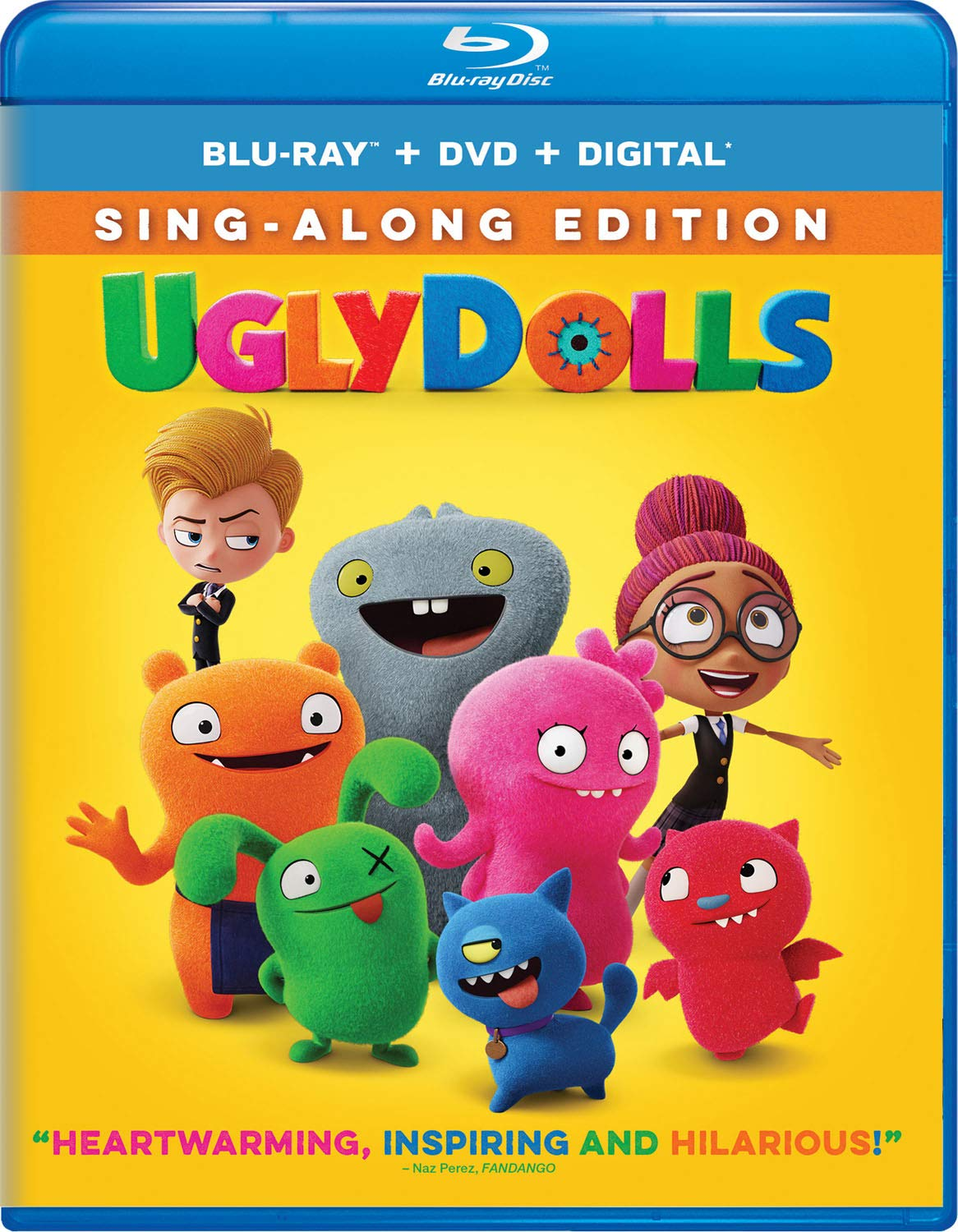 UglyDolls Blu-ray Cover